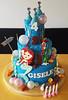 Little Mermaid Castle (adrianarosati) Tags: birthday castle cake mermaid cakedecorating adrianarosati