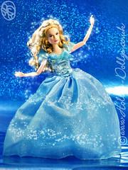 """""""Now off you go... for you *shall* go to the ball"""" (HollysDollys) Tags: fairytale doll dolls transformation princess magic barbie disney cinderella dolly fashiondoll disneystore 12inch dollies dollie dollys disneydoll fashiondolls cinderelladoll playscale disneydolls lilyjames hollysdollys cinderella2015 cinderellaliveaction wwwhollysdollyscouk"""