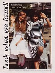 Seventeen Magazine Feb. 1982 (moogirl2) Tags: 1982 southcarolina charleston 80s editorial 80sstyle seventeenmagazine 80sfashions vintageseventeenmagazine kerstibowser georgebarkentine