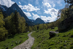 Mountain Road (RonyLut) Tags: trip trees sky cloud nature rock clouds landscape photography spain nikon photographer outdoor hiking hike trips pyrenees 18105 d3200