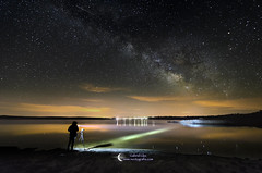 The night photographer (Gabriel Glez.) Tags: nightphotography night stars lago nikon lac tokina estrellas laguna nigh fotografo milkyway largaexposicion valctea fotografianocturna vialactea gabrielglez noctografia
