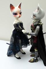 Pipos O.Charlotte and A.Derek (Damasquerade) Tags: o charlotte derek bjd armour midsummernightsdream balljointdoll pipos