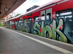 Graffiti (Honig&Teer) Tags: railroad sport train graffiti steel eisenbahn db deutschebahn sbahn railways treno spraycanart hildesheim traingraffiti trackside trainart nahverkehr railroadgraffiti dbregio honigteer eisenbahngraffiti