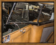 1930 Franklin Pirate Phaeton (Sugardxn) Tags: auto arizona southwest window leather photoshop canon vintage franklin frames automobile tucson az frame 1930 picswithframes canoneos7d canon7d franklinautomobile franklinautomuseum raydietrich sugardxn garypentin piratephaeton