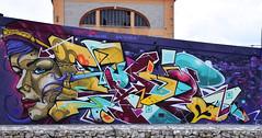 Sueb    Takt (HBA_JIJO) Tags: portrait urban woman streetart france art wall graffiti letters spray peinture writer mur bombing lettres vitry lettring lettrage vitrysurseine paris94