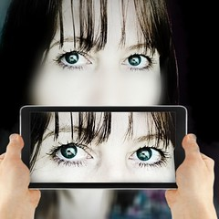 26/52 Faceless portrait (Isa****) Tags: portrait yeux faceless