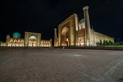 Samarkand Registan (Stefano Cislaghi) Tags: uzbekistan samarkand registan madrassah madrasah