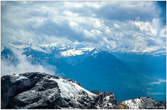 Mt. Pitalus (Madmyst619) Tags: mountain snow alps switzerland cross peak alpine lucerne snowscape pitalus