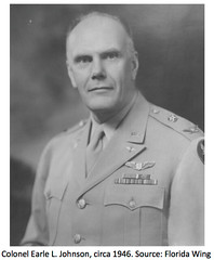 Col. Earle L. Johnson (SixbyFire) Tags: wood ohio army force air johnson edward civil cap kenneth patrol commander forces earle 1947 northroyalton c45 malovic expeditor c45f