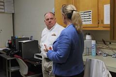 Governor Hogan visits MDA Animal Health Laboratory in Salisbury, June 2016 (MdAgDept) Tags: salisbury animalhealth larryhogan animalhealthlab governorhogan