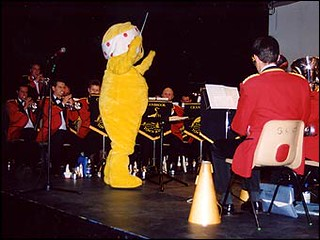 Pudsey Conducts a March - 2003
