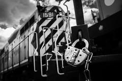 All CPR 2 (Ryan J Gaynor) Tags: railroad blackandwhite monochrome clouds train railway trains depthoffield locomotive canadianpacific cp railfan lowangle railroading gjr guelphjunction guelphjunctionrailway