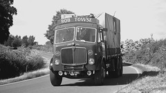 778 MNU (panmanstan) Tags: truck vintage wagon yorkshire transport lorry commercial vehicle freight haulage aec littleweighton