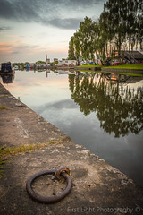 Evening Stroll in Sawley (First_Light_Photography) Tags: evening walk sawley sunset marina water river canal boats narrow boat reflection nottingham