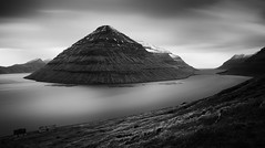 Erased (mike-mojopin) Tags: longexposure blackandwhite seascape water canon fineart faroeislands
