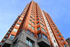 Rotterdam (The Netherlands) - Blaak - Statendam building - 2 (Bjorn Roose) Tags: netherlands architecture rotterdam blaak nederland paysbas architectuur zuidholland niederlnde bjrnroose bjornroose