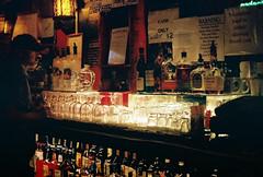 Thirsty. (Greg.the.Great) Tags: sanfrancisco film bar 35mm photography nikon drink superia alcohol 400 fujifilm 50mmf18 xtra nikonem seriese