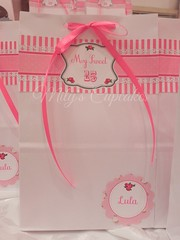 Romantic Cookies favor bags (Mily'sCupcakes) Tags: cookies romantic bags favor shaby
