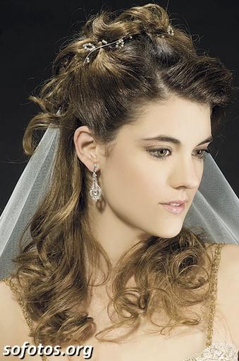 Penteados para noiva 2014