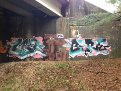 Miq / Barie in Connecticut (cant wait to mauer) Tags: graffiti connecticut rhodeisland pta miq barie uploaded:by=flickrmobile flickriosapp:filter=nofilter ecstralive