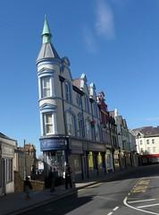 jeweller's (Avid Maxfan) Tags: blue building turret jewellers caernarvon walestrip2127apr2013