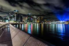 Out & About - City Lights (Charlie Coe Photo) Tags: longexposure nightphotography travel water night canon cityscape sydney dreaming citylights dreams slowshutter 5d dreamer f4 nightvision sydneyharbour gettyimages 2566 travelaustralia travelsydney 1840mm sydneyphotographers charliecoephoto