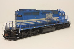 ELS 500 RR (Set and Centered) Tags: railroad lake chicago scale electric train model power diesel superior and locomotive motive ho 500 custom corp 187 els services 182 railroading emd sd402 escanaba gatx 7349 cmps athearn exgatx exgscx neemilw