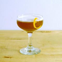 Bourbon Cynar Sour