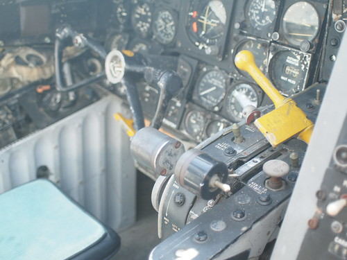Douglas EKA-3B Skywarrior cockpit P5120764
