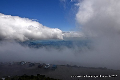 Clouds at the summit
