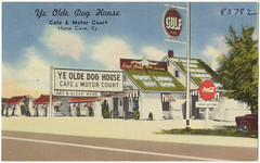 kentucky restaurants postcards motels tichnorbrothers