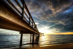The Cloud Bridge to Helios.jpg (eyeDyllic Photography (Bill Dodd)) Tags: park sunset clouds coast pier gulf daphne mayday gulfcoast mobilebay nikond800 sitecoastal