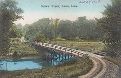 Ames, Iowa, Squaw Creek, Bridge (photolibrarian) Tags: bridge squawcreek amesiowa