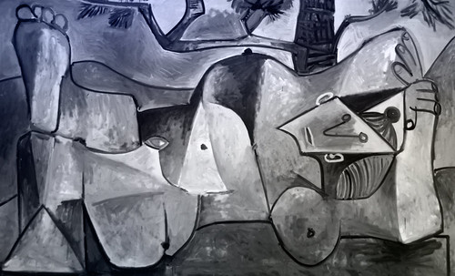 "Majas, homenajes de Francisco de Goya y Lucientes (1802), Eugéne Delacroix (1826), Amadeo Modigliani (1916), Pablo Picasso (1906), (1931), (1959), (1964). • <a style=""font-size:0.8em;"" href=""http://www.flickr.com/photos/30735181@N00/8747971858/"" target=""_blank"">View on Flickr</a>"