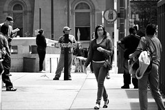 Are You Saved? (damonabnormal) Tags: street city urban blackandwhite bw philadelphia nikon candid snapshot may pa phl passerby commuters urbanite peopleinthecity 2013 candidstreetphotography d7000