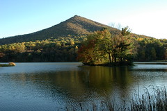 013 - Peaks of Otter (Scott Shetrone) Tags: mountains forest virginia scenery events lakes places fallfoliage 8th blueridgeparkway anniversaries peaksofotter