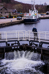 Opening the Lock (glomacphotos) Tags: scotland corpach