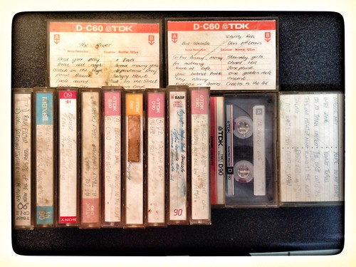 Saying Goodbye to my old Cassette Tape collection!