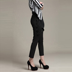 Julie New Women Spring Black Fashion Korean Harlan Pants Feet Trousers K141 (shoprusher2) Tags: new black feet fashion spring women julie pants korean trousers harlan k141