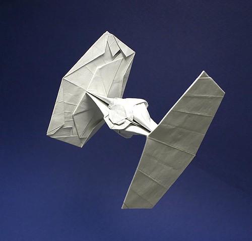 Flickriver Photoset Tie Fighter Origami Diagram By Matayado Titi