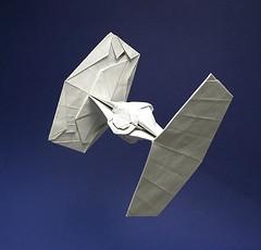 TIE Fighter origami New photo (Matayado-titi) Tags: starwars origami fighter space tie imperial vehicle spaceship starship tiefighter starfighter sugamata matayado