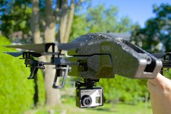 camera 2 black nikon mod ar air parrot quad hobby helicopter remote edition copter drone 28300 d600 hero3 ardrone