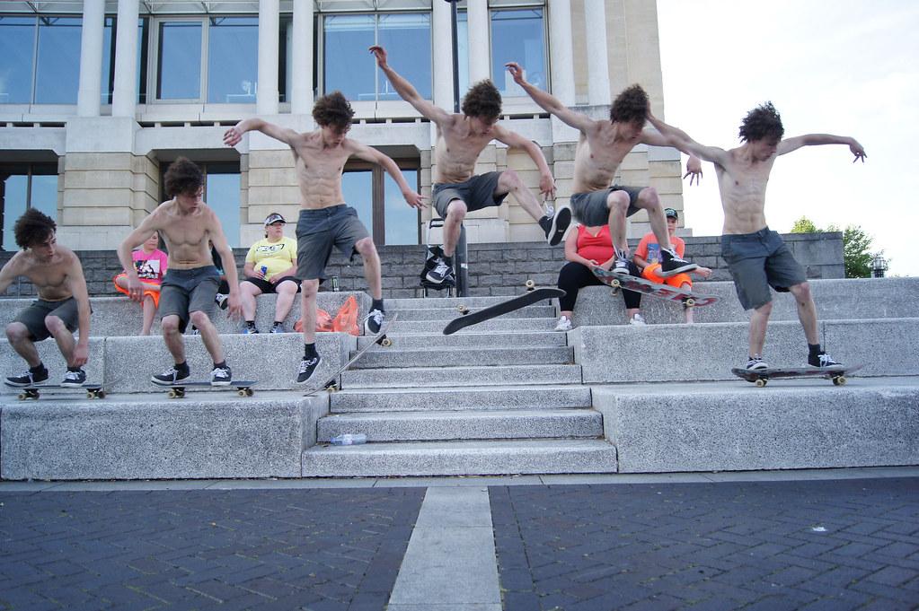 Heelflip truco de skate