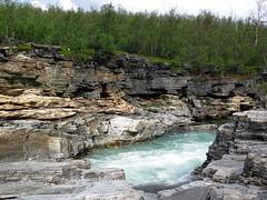 lapland_021 (rhomboederrippel) Tags: rhomboederrippel lapland holiday canon is120sx summer 2013 june sweden abisko nationalpark kungsleden river rapids scandinavia europe lappland astoundingimage