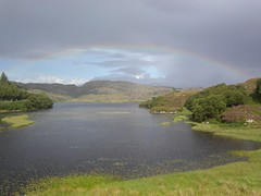 Rainbow over Loch Culag