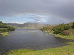 Rainbow over Loch Culag
