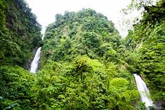 Trafalgar Falls (GlobalGoebel) Tags: 3 green nature canon island waterfall saturated mark iii trafalgar twin double falls waterfalls tropical 5d caribbean dual dominica mark3 lomoesque markiii 1635mm 1635mmf28l natureisland canonef1635mmf28l canonef1635mmf28liiusm
