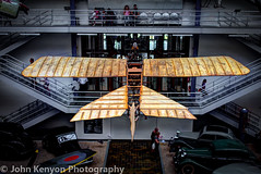Flying over the museum... (johnkenyonphotography) Tags: cars technology prague bikes trains planes czechrepublic automobiles technicalmuseum