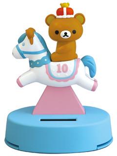 拉拉熊 10週年騎馬搖搖樂