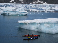 Greenland. (VERUSHKA4) Tags: ocean travel blue summer people white mountain lake snow ice nature water canon wonderful denmark island boat europe day view place north july atlantic explore shore greenland iceberg vue biggest northcountry